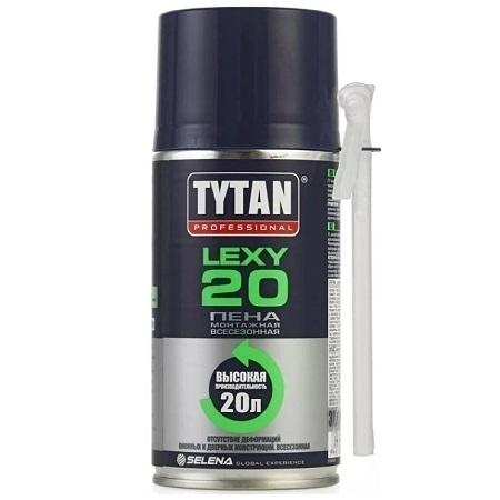 Пена монтажная Tytan Professional Lexy 20 / Титан Професионал Лекси 20