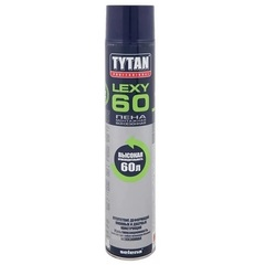 Пена монтажная Tytan Professional Lexy 60 / Титан Професионал Лекси 60