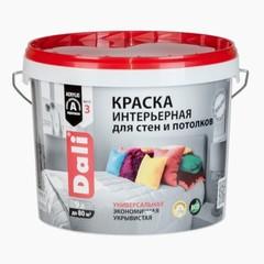 Краска для стен и потолков интерьерная Dali / Дали глубокоматовая