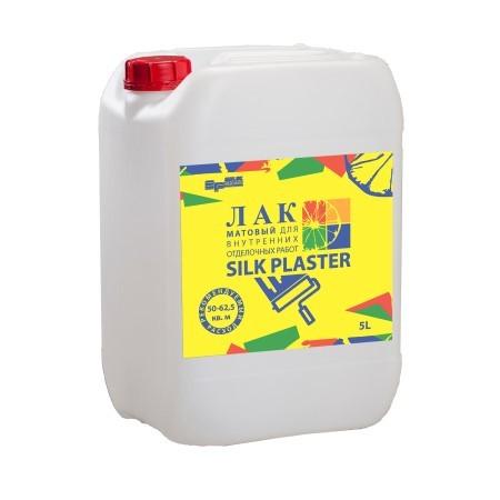 Лак защитный для жидких обоев Silk Plaster / Силк Пластер матовый