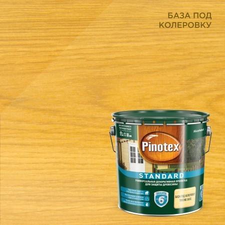 Пропитка восковая для древесины Pinotex Standard / Пинотекс Стандарт