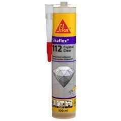 Клей-герметик многоцелевой прозрачный Sika Sikaflex Crystal Clear / Зика Зикафлекс Кристал Клир
