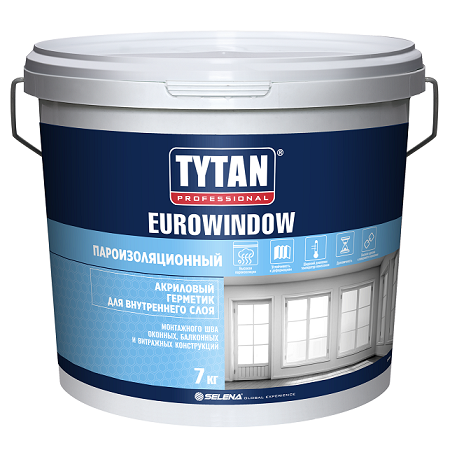 Герметик акриловый для внутренних работ Tytan Professional Eurowindow / Титан