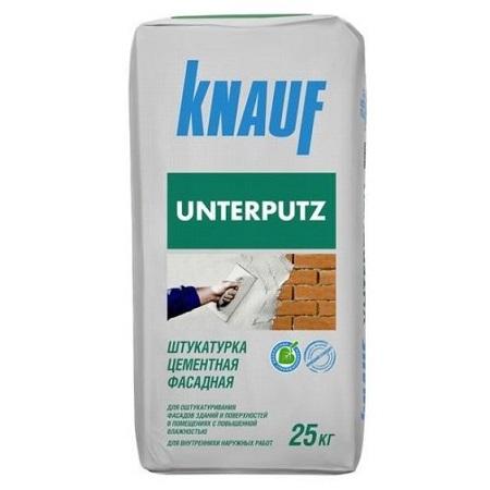 Штукатурка цементная фасадная Knauf Unterputz / Кнауф Унтерпутц