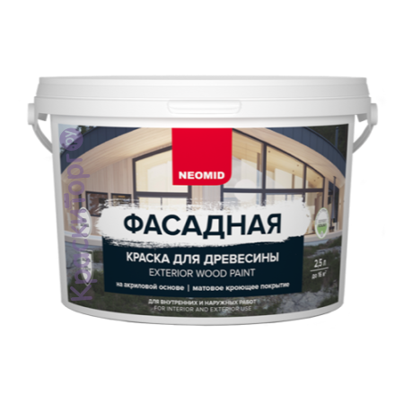 Краска для деревянных фасадов Neomid / Неомид Профи