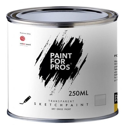 Маркерное покрытие SketchPaint Paint for Pros / Скетчпеинт бесцветное, глянцевое