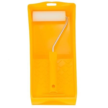 Набор мини валик с ручкой, ванночка Color Expert Basis / Колор Эксперт поролон 86901102