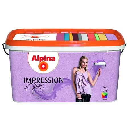 Декоративная штукатурка Alpina Impression Effekt / Альпина
