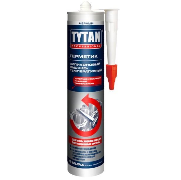 Герметик силиконовый высокотемпературный Tytan Professional / Титан Профессионал