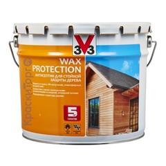 Антисептик для стойкой защиты дерева V33 Wax Protection