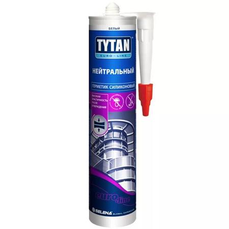 Герметик силиконовый, нейтральный Tytan Euro-Line / Титан