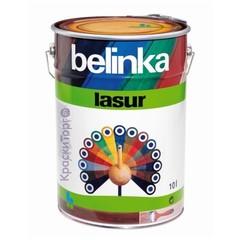 Декоративное лазурное покрытие для древесины Belinka Lasur / Белинка Лазурь