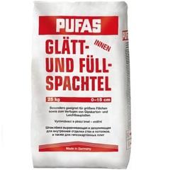Шпатлевка гипсовая усиленная целлюлозой Pufas / Пуфас