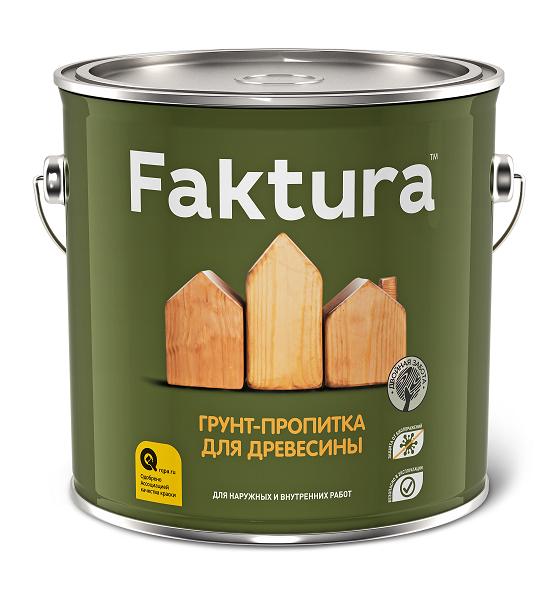 Грунт-пропитка для древесины Faktura / Фактура