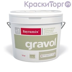 Штукатурка декоративная камешковая Bayramix Gravol / Байрамикс Гравол