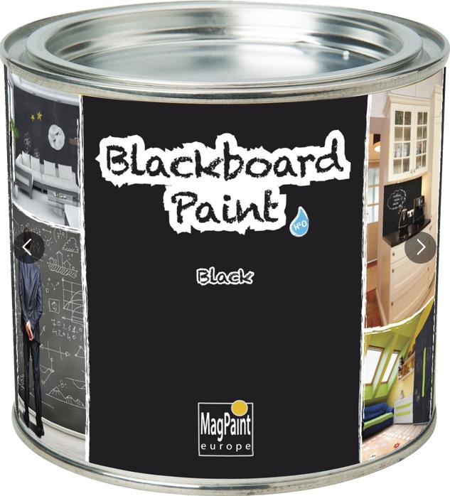 Грифельная краска черная Magpaint Blackboardpaint / Магпейнт