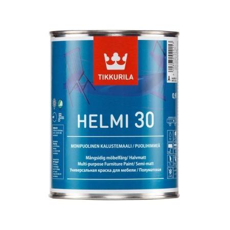 Краска для мебели Tikkurila Helmi 30 / Тиккурила Хелми 30 полуматовая