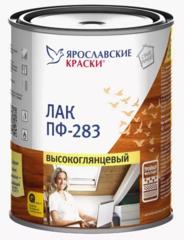 Лак для дерева и металла ПФ-283 Ярославские Краски высокоглянцевый