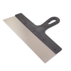 Шпатель фасадный нержавеющая сталь Color Expert / Колор Эксперт пластиковая ручка
