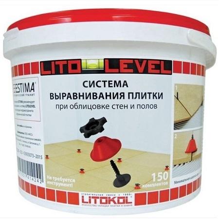 Система выравнивания плитки Litokol Litolevel / Литокол Литолевел (150шт)