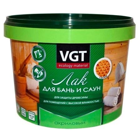 Лак для бань и саун VGT / ВГТ