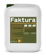Огнебиозащита для древесины Faktura  1 группа / Фактура бесцветная