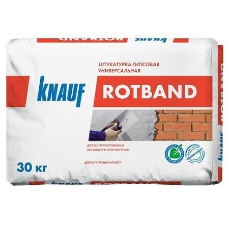 Штукатурка гипсовая универсальная Knauf Rotband / Кнауф Ротбанд