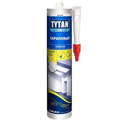 Герметик акриловый Tytan Euro-Line / Титан