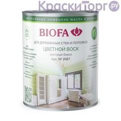 Воск цветной для деревянных стен Biofa 2087 / Биофа