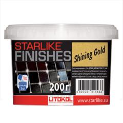Декоративная добавка в затирку Яркое золото Litokol Starlike®Finishes Shining Gold / Литокол