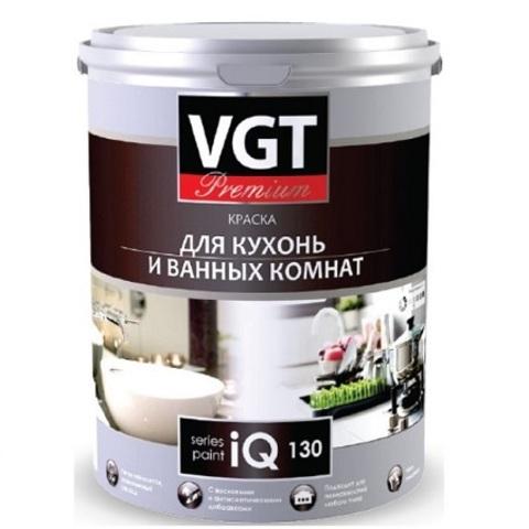 Краска для кухонь и ванных комнат VGT PREMIUM IQ 130 / ВГТ ПРЕМИУМ