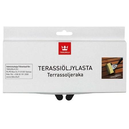 Насадка на аппликатор для нанесения масел и лаков Tikkurila Terassioljylastaan / Тиккурила