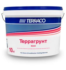 Грунтовка проникающая для внутренних работ Terraco Террагрунт Maxi / Террако Макси