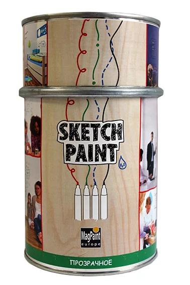 Маркерная краска прозрачная глянцевая Magpaint Sketchpaint / Магпейнт Скечпейнт