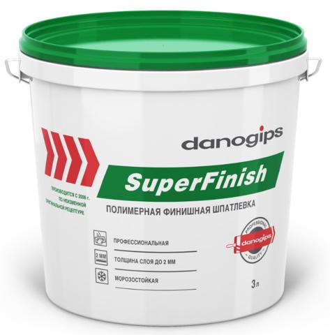 Шпатлевка финишная Sheetrock Danogips Super Finish / Шитрок Даногипс Супер Финиш