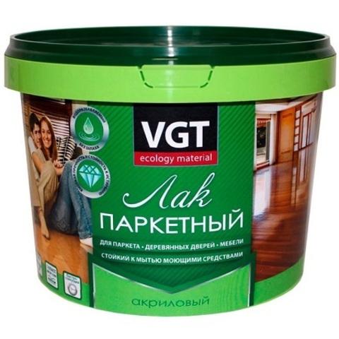 Лак паркетный VGT / ВГТ полуматовый