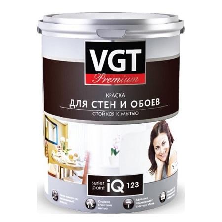 Краска для стен и обоев VGT PREMIUM IQ 123 / ВГТ ПРЕМИУМ