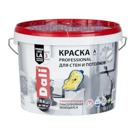 Краска для стен и потолков глубокоматовая Dali Professional / Дали Профессионал