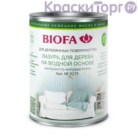 Лазурь для дерева на водной основе Biofa 5175-5177 / Биофа