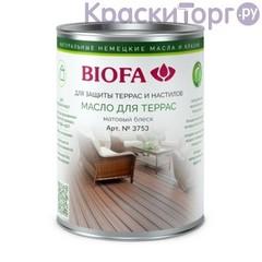 Масло для террас и настилов Biofa 3753 / Биофа